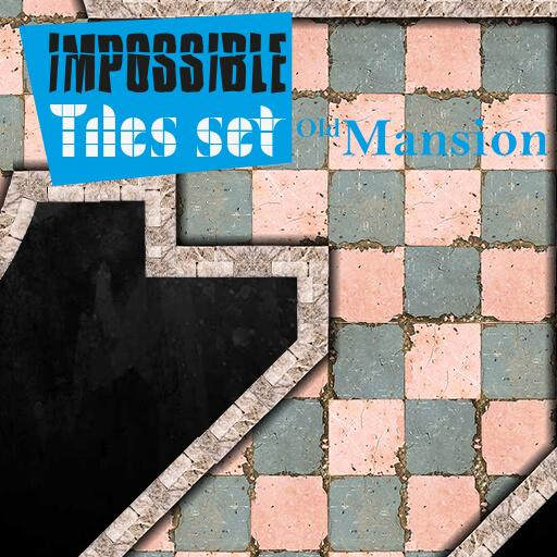 Impossible Tiles Set: Old Mansion