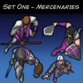 Set One - Mercenaries
