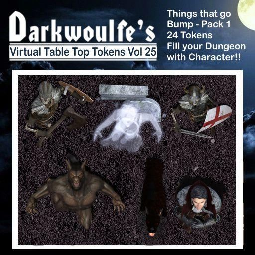 Darkwoulfe's Token Pack Vol25 - Things That Go Bump 1