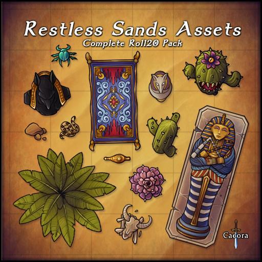 Restless Sands Assets