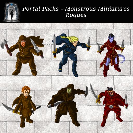Portal Packs - Monstrous Miniatures - Rogues