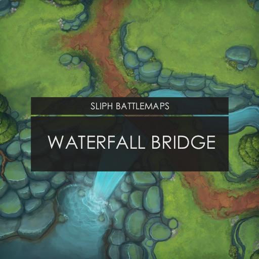 Waterfall Bridge   Battlemap