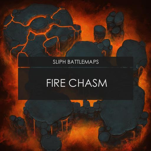 Fire Chasm | Battlemap