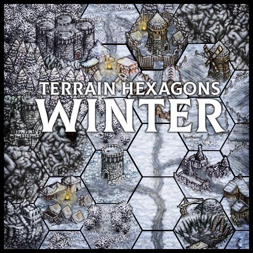Terrain Hexagons: Winter