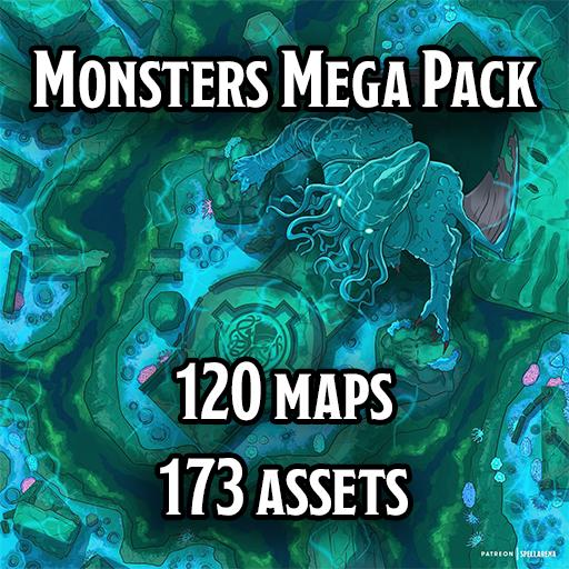 Monsters Mega Pack