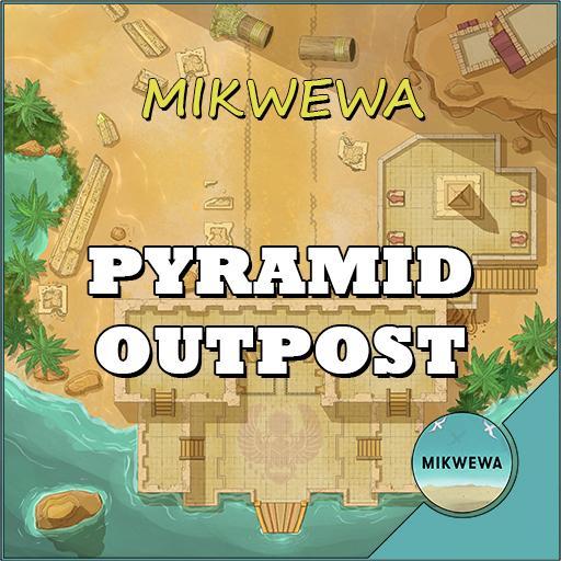Pyramid Outpost Battlemaps