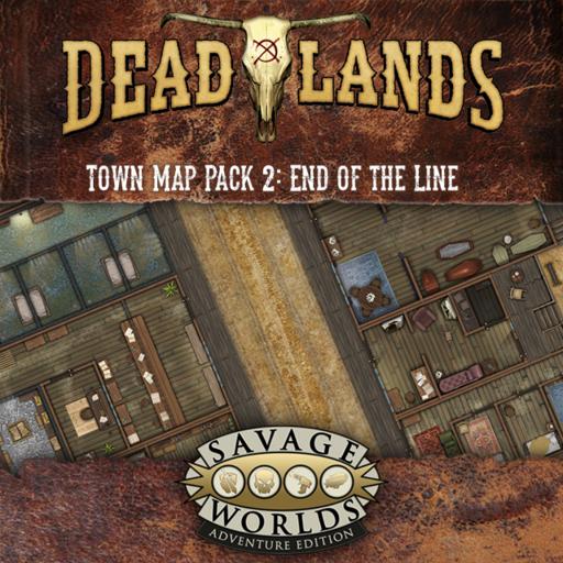 Deadlands Map Pack 2: End of the Line! & Ambush Pass