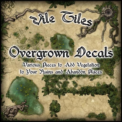 Vile Tiles: Overgrown Decals