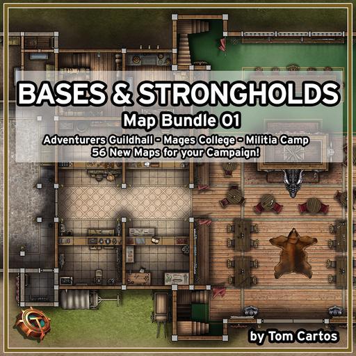 Bases & Strongholds Map Bundle 01
