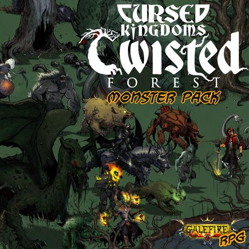 Cursed Kingdoms - Twisted Forest Isometric Monster Pack