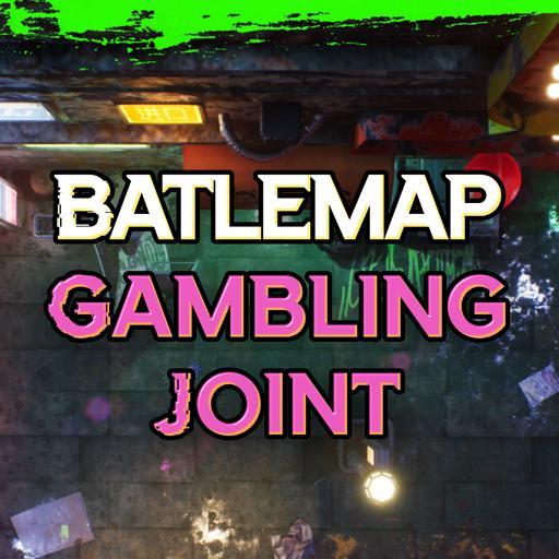 Cyberpunk Gambling Joint
