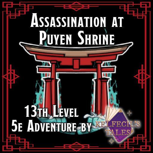 Assassination at Puyen Shrine