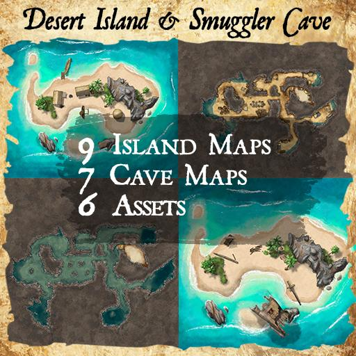 Desert Island & Smuggler's Cave