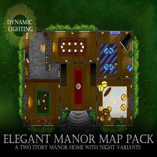Elegant Manor - Dynamic Lighting