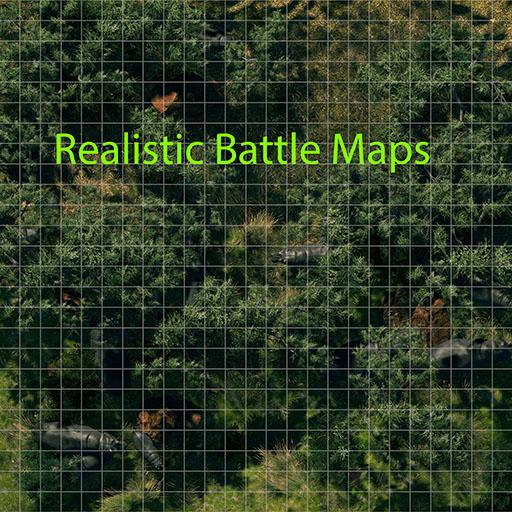 Realistic Battle Maps