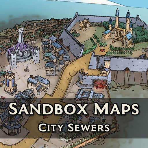 Sandbox Maps - City Sewers