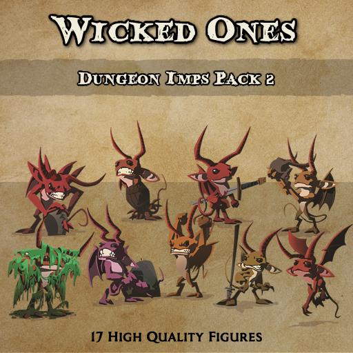 Wicked Ones - Imps 2 [Figures]