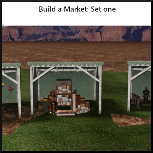 Build a Market: Set 1