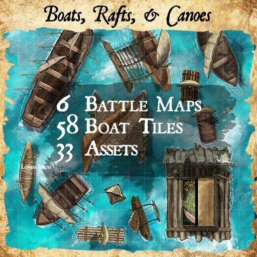 Boats, Rafts, and Canoes