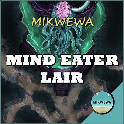 Mind Eater Lair Battlemaps