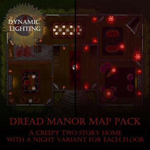 Dread Manor - Dynamic Lighting