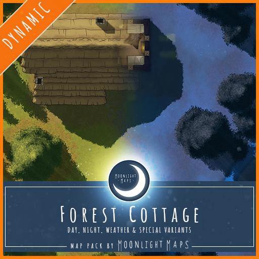 Dynamic   Forest Cottage
