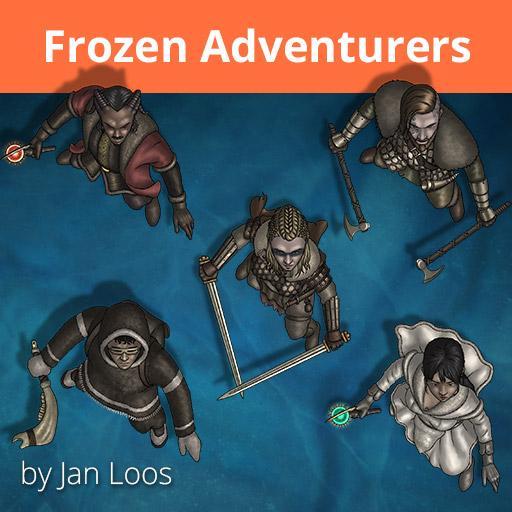 Jans Token Pack 31 - Frozen Adventurers