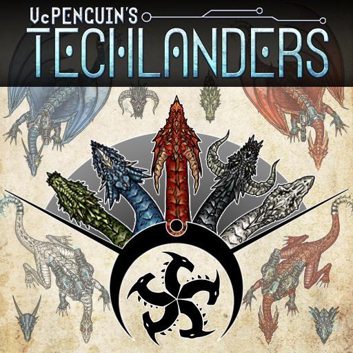 Techlanders - Chromatic Dragon Pack