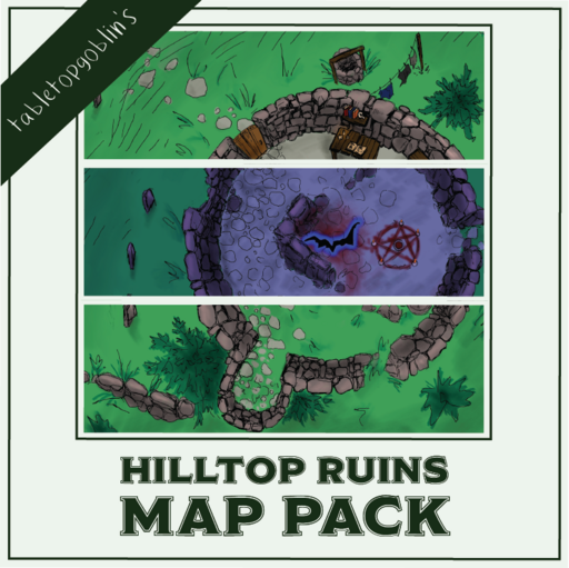 Hilltop Ruins Map Pack