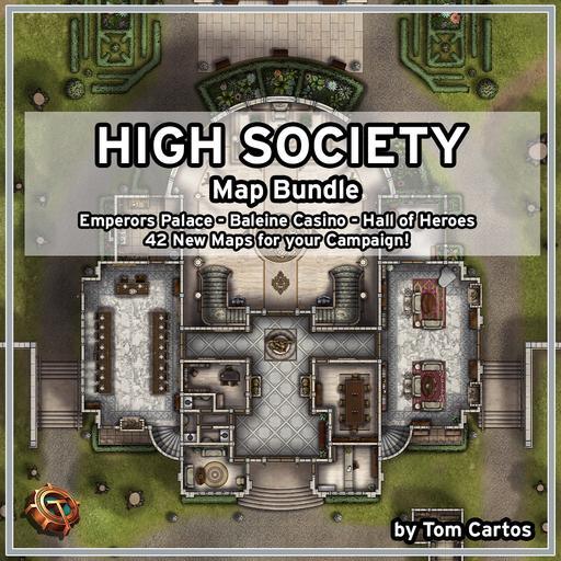 High Society Map Bundle
