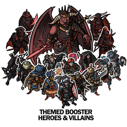 Heroes & Villains - Four Corners Of the World