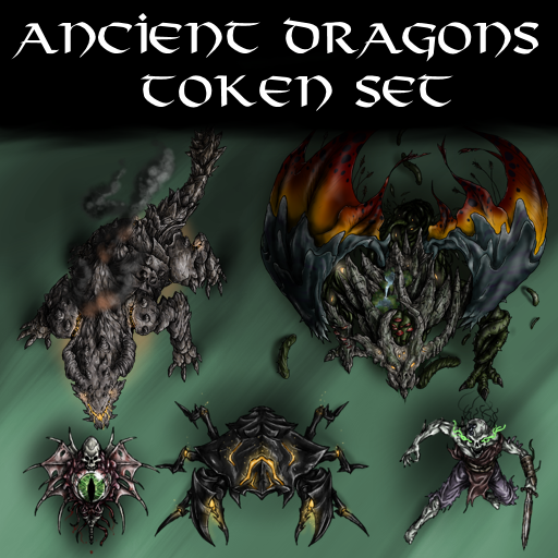 Ancient Dragons Token Set