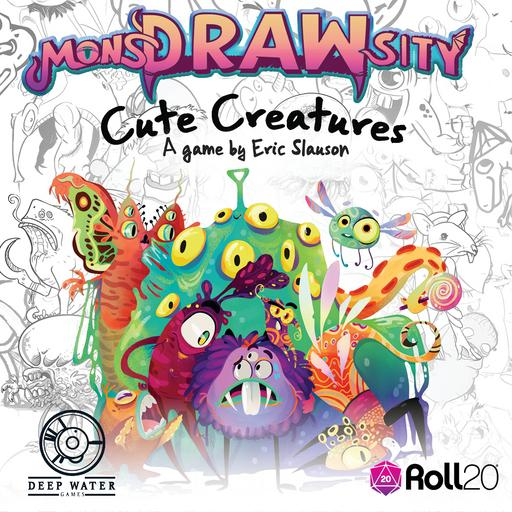 MonsDRAWsity - Cute Creatures Expansion Pack