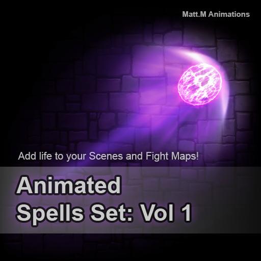 Animated Spells Set: Vol 1