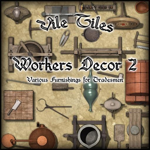 Vile Tiles: Worker's Decor 2