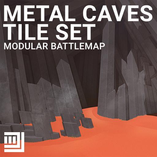 Metal Caves Tile Set
