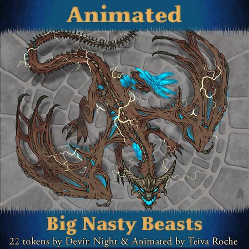 Big Nasty Beasts Animated