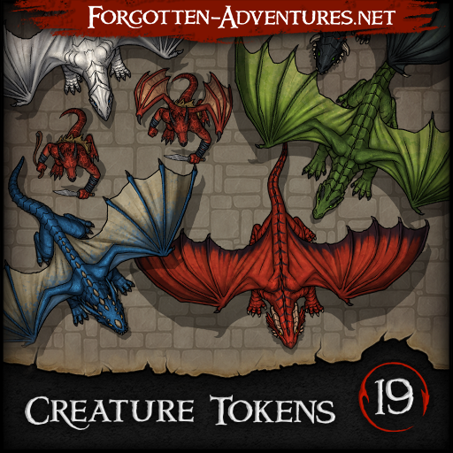 Creature Tokens - Pack 19