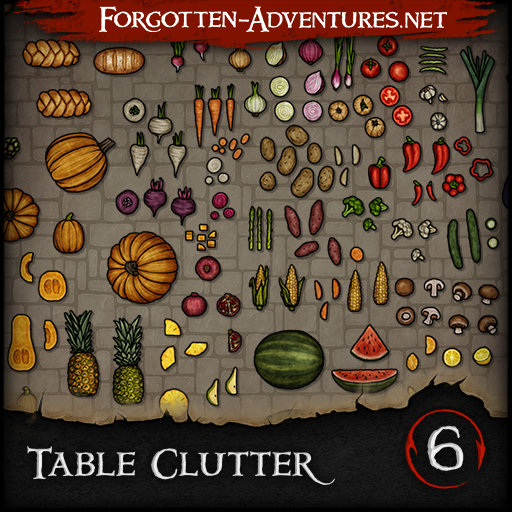 Table Clutter - Pack 6