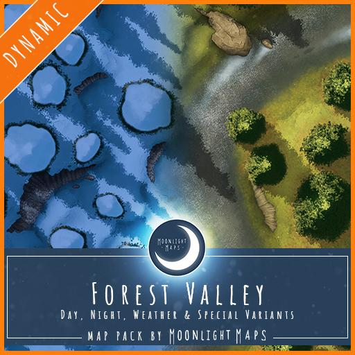 Dynamic   Forest Valley