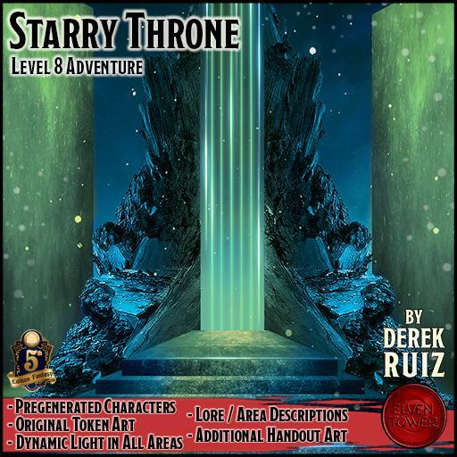 The Starry Throne - 5e - Lv-8 Adventure