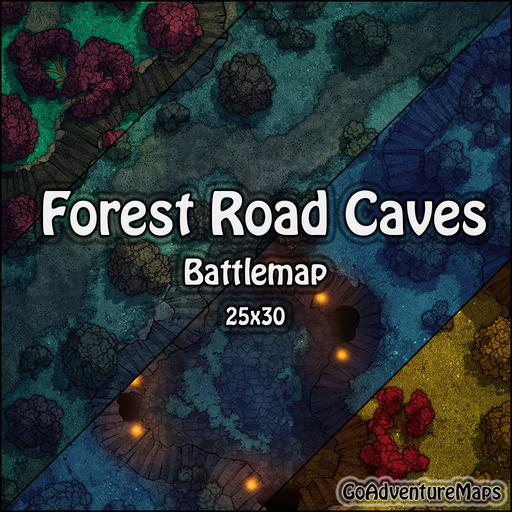 Forest Road Caves