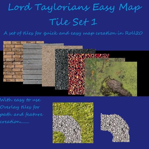 Lord Taylorians EasyMap Tile Pack 1