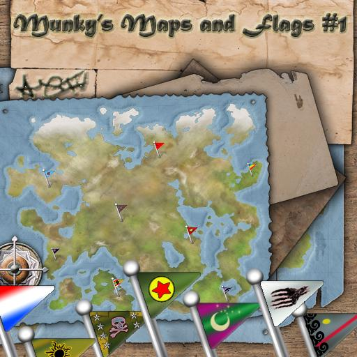 Munky's Maps & Flags Vol. 1