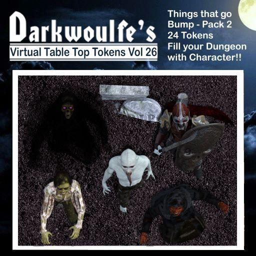 Darkwoulfe's Token Pack Vol26 - Things That Go Bump 2