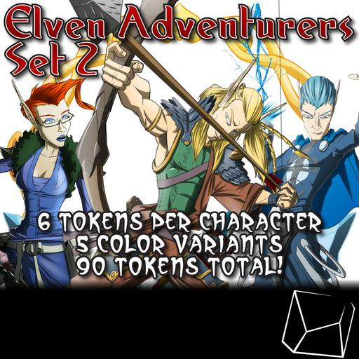 Elven Adventurers Set 2