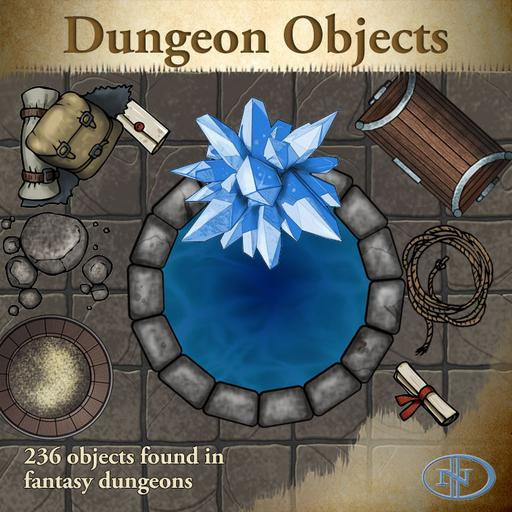 Objects 01: Dungeon Items
