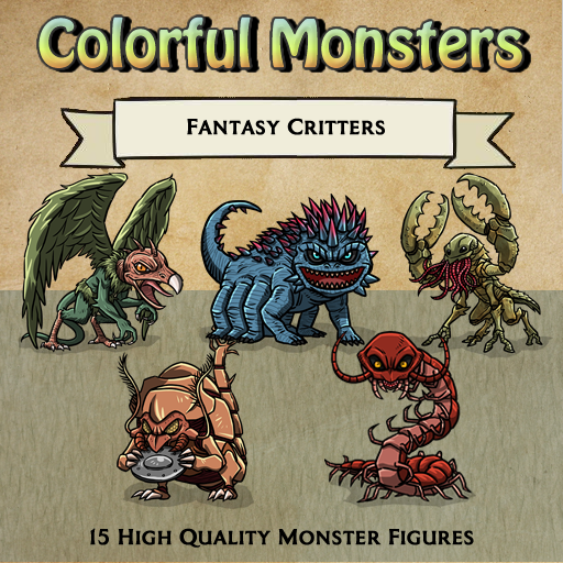Colorful Monsters - Critters [Figures]