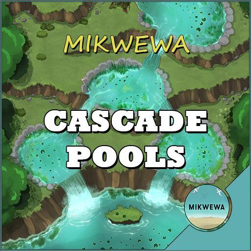 Cascade Pools Battlemaps