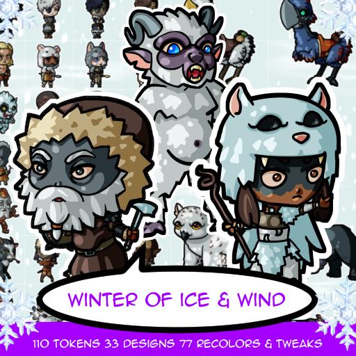 Winter of Ice & Wind Tokens